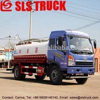 4X2 5000L tank truck China best plant watering carts