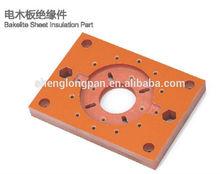 Orange Bakelite Phenolic Sheet CNC Precision Machining Parts