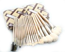 New 20 pcs soft Nylon hair makeup brush set make-up tools brushes kit with PU bag