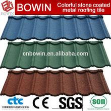 waterproof roofing sheet /wood shingle roofing /colorful metal roof