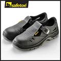 Sandalias de seguridad, de acero del dedo del pie sandalias de seguridad, puntera de acero sandalia zapatos de seguridad l-7008