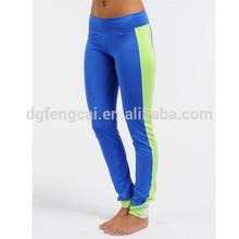 90% polyester 10% spandex custom Dri FIT gym clothes wide leg yoga pants for women