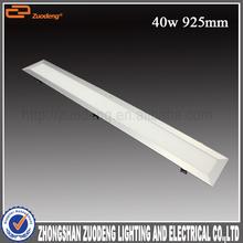 Modern design 40w nature white aluminum led lamp ceiling flat for office lighting
