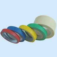 High quality crepe paper adhesive color masking tape for car/house/wall decoration