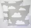 Scandinavian Swedish Farg & Form fabric clouds Kids pillow cover,clouds Kids pillow case