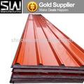 Conseil en acier galvanisé ondulé, toit des panneaux sandwich eps