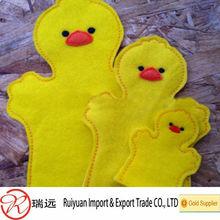 Handmade family sets felt finger puppets for sale
