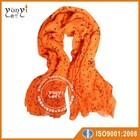 2014 fashion scarf printing linen yarn cheap pashmina scarf
