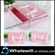 Custom Print Design Slide Drawer Paper Gift Cardboard Box