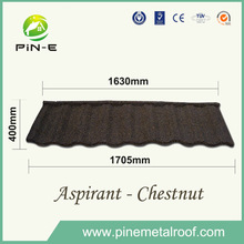 Aspirant colorful stone coated metal roofing tile