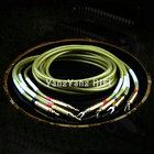 YYAUDI HI-End audio speaker cable with banana/spade plugs