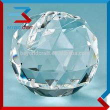 round ball card holder glass