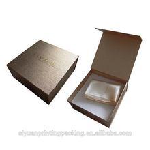 Popular stylish fashion satin cosmetic box