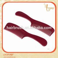 2015 hot selling mens plastic hair comb