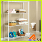 4 layers stainless steel clothes rack,supermarket sale home usage display stand,clothes storage wire shelving