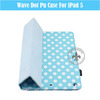 Fashionable PU Leather With PC Holder Smart Stand By Fold Case For 10 Inch Tablet PC For iPad5 U1708-55