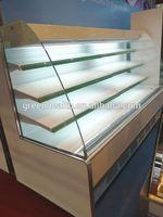 China Supplier Deft Design Fruit&Vegetable Cooler Display showcase