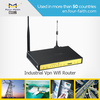 4G VPN WIFI Router with sim card slot & serial port & 4LAN ports support ads promotion F3834 for public wifi hotspot