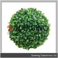 plastic artificial flower grass plant boxwood ball