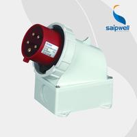 SAIPWELL/SAIP 16A/400V 3P+N+E IP67 European Plastic Industrial Electrical Waterproof Plug