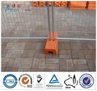 hot dipped galvanized high quality temporary fence panel feet(suppliers trading or manufactures