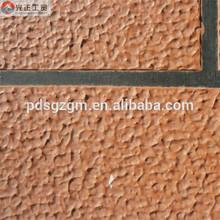 Elastic garland texture concrete middle coating