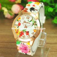 Crazy wholesale fashion women geneva japan movt quartz watch,geneva gold watch with waterproof