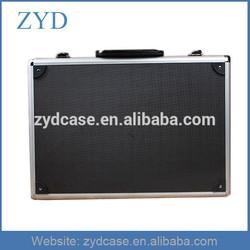 Black hard practical ABS portable aluminum tool box, 525 x 320 x 160 mm