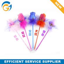 2014 Hot Wholesale Promotional Custom Feather Flower Ball Pen
