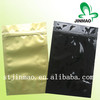 Colorful zipper bag for herbal incense with tear notch