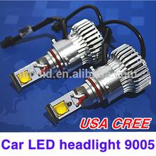 2014 newest 21w cree led headlight h1 h4 h7 h8 h9 H11 9005 9006 car led headlight 2400 lumens
