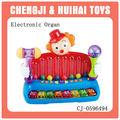 caliente la venta de niños divertido juguete órgano electrónico instrumento musical payaso encantador