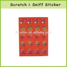 OEM Paper Fragrant Sticker