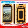 Jaguar V12 2014 dual sim cards ip67 waterproof smartphone