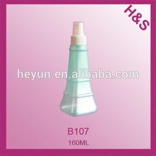 160ml New design PET bottle with pump sprayer plastic bottle /lotion bottle/perfume bottle