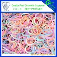 Fashion finger loom for rubber band bracelets