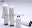 Water Filter Membrane Filtration Thailand Coconut Water Process and Filtration PP Pleated Filter Cartridge