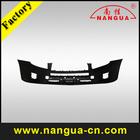 black automobile front bumper