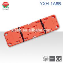 La inmovilización de la columna vertebral junta yxh- 1a6b