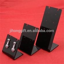 3x Acrylic Pendant Earrings Display Stand