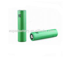 High drain 18650 li-ion battery 3.7V 2100mAh for sony ecigator ecig 18650 li-ion battery