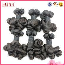 Synthetic Dreads Bouncy Curl Top Grade Pure Virgin Hair Weaves Virgin Malaysian Hair Bouncy Curl