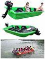 Barco de plástico e barco de pesca & barco de resgate nunca pia