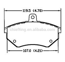D684 357698151B for Audi Chery VW SEAT car brake pad