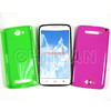 Popular Candy Solid Color Soft TPU Gel Phone Case For Alcatel One Touch Hero OT8020D Protective Cover