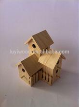 2014 Hot sale wooden bird house, wooden bird home