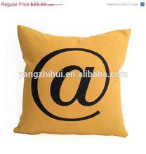 At Symbol Throw pillow Cover,At Symbol Throw pillow Case