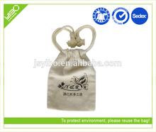 Environment-friendly reusable customized drawstring cotton/jute bags