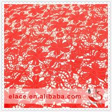 Wholesale beautiful flower pattern african lace fabrics high quality 2014