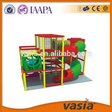 single slide small indoor playground